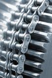 łańcuszkowej sprzętu zasilania zdjęcie stock