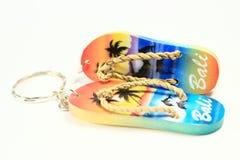 łańcuszkowi kluczowi kapcie Zdjęcie Royalty Free