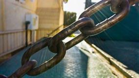 łańcuszkowy żelaza zdjęcie royalty free