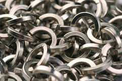 łańcuszkowy żelazo Fotografia Stock