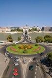 łańcuszkowy Budapest bridżowy widok Fotografia Royalty Free