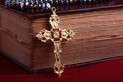 łańcuszkowy krzyż Obraz Stock
