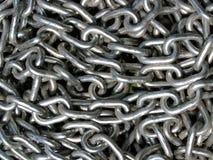 łańcuszkowy metal obrazy stock