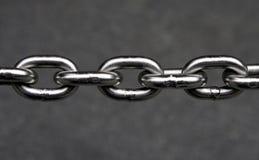 łańcuszkowy metalu Zdjęcie Stock