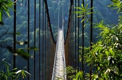 Łańcuszkowy most Fotografia Royalty Free