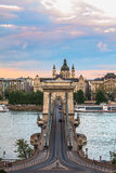 Łańcuszkowy most Obrazy Royalty Free