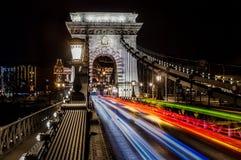 Łańcuszkowy most Zdjęcia Stock