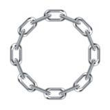 łańcuszkowy pierścionek Zdjęcia Stock