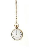 łańcuszkowy wiszący kieszeniowy zegarek Obrazy Stock