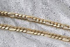 łańcuszkowy złoto Obraz Royalty Free