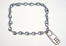 łańcuszkowy zamka ramowy przeciążeniowe Fotografia Royalty Free