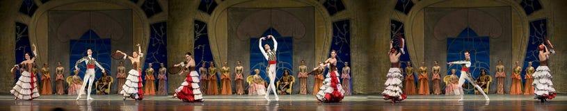 Łabędzi Jeziorny balet Obraz Royalty Free