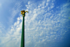 Łabędzia lampa Obraz Royalty Free