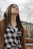 Łacińska dziewczyna Zdjęcia Stock