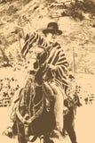 Łacińska kowbojska rywalizacja ilustracja wektor
