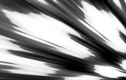 Łaciasty czarno biały tło Plamy różni się od niskiego kąta krawędzie w różnym kierunku ilustracji