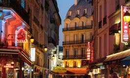 Łaciny ćwiartka Paryż, Obraz Royalty Free