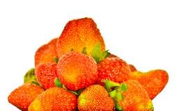 Ładna świeża czerwona truskawka zdjęcie royalty free