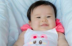 Szczęśliwa azjatykcia dziewczynka Obrazy Royalty Free