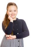 Ładna dziewczyna nastoletnia, zakończenie Obrazy Stock