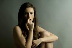 Ładna kobieta Obraz Stock