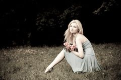 ładna kobieta Zdjęcie Royalty Free