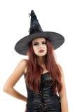 Ładna młoda rudzielec czarownica Fotografia Royalty Free