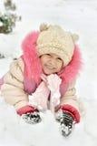Ładna mała dziewczynka Zdjęcia Royalty Free