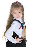 Ładna mała dziewczynka zdjęcia stock