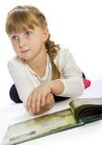 Ładna mała dziewczynka bawić się z Obrazy Stock