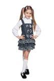 Ładna mody mała dziewczynka obrazy royalty free