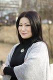 Ładne młode azjatykcie kobiety Fotografia Stock