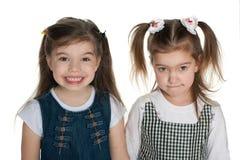 Ładne małe dziewczynki obraz stock
