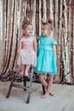 Ładne małe dziewczynki Obrazy Stock