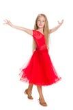 Ładni młoda dziewczyna tanowie Fotografia Stock