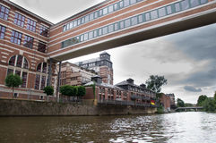 Ładni mieszkania w Leipzig zdjęcie stock
