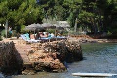 Ładni widoki Ibiza święty Antoni Obrazy Royalty Free