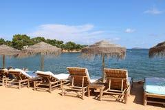 Ładni widoki Ibiza święty Antoni Zdjęcia Stock