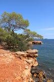 Ładni widoki Ibiza święty Antoni Fotografia Stock