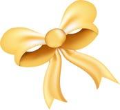 ładny łęku złoto Zdjęcia Stock