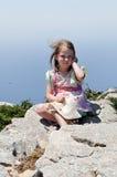 Ładny ładna dziewczyna fotografia stock