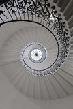 Ładny Ślimakowaty schody Obrazy Royalty Free