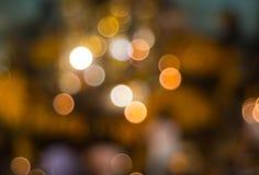 Ładny abstrakcjonistyczny kolorowy bokeh światło Zdjęcia Royalty Free