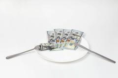 Ładny biznesowy lunch Fotografia Stock