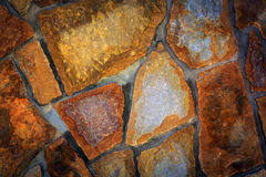 Ładny brickwork tło Obrazy Royalty Free