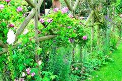ładny chałupa ogródu szczegół Zdjęcie Royalty Free