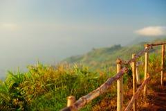 Ładny jesień krajobraz dla tła Obraz Stock