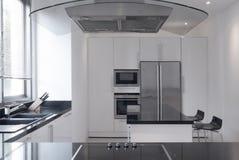 Ładny kuchenny wnętrze obraz royalty free