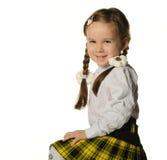 ładny mały dziewczyna portret obrazy stock