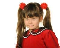 ładny mały dziewczyna portret obrazy royalty free